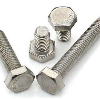 DIN933 A2 70 hatszögletű csavar, rozsdamentes acél 304 és 316