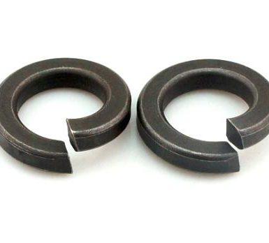 Fekete oxid sima rugós alátét DIN127 DIN128